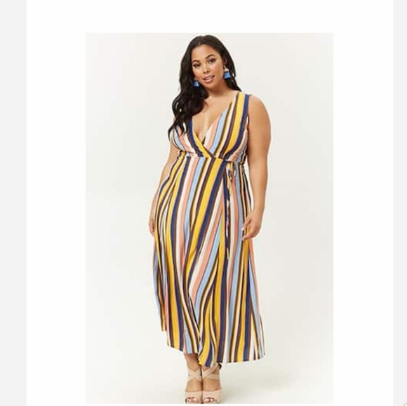 Plus size Forever21 Wrap Dress